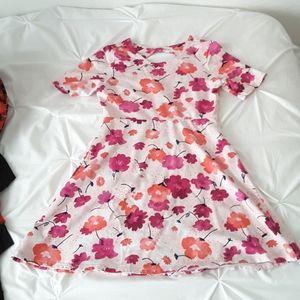 3/$20 - Girl's Pink Floral Gymboree Dress